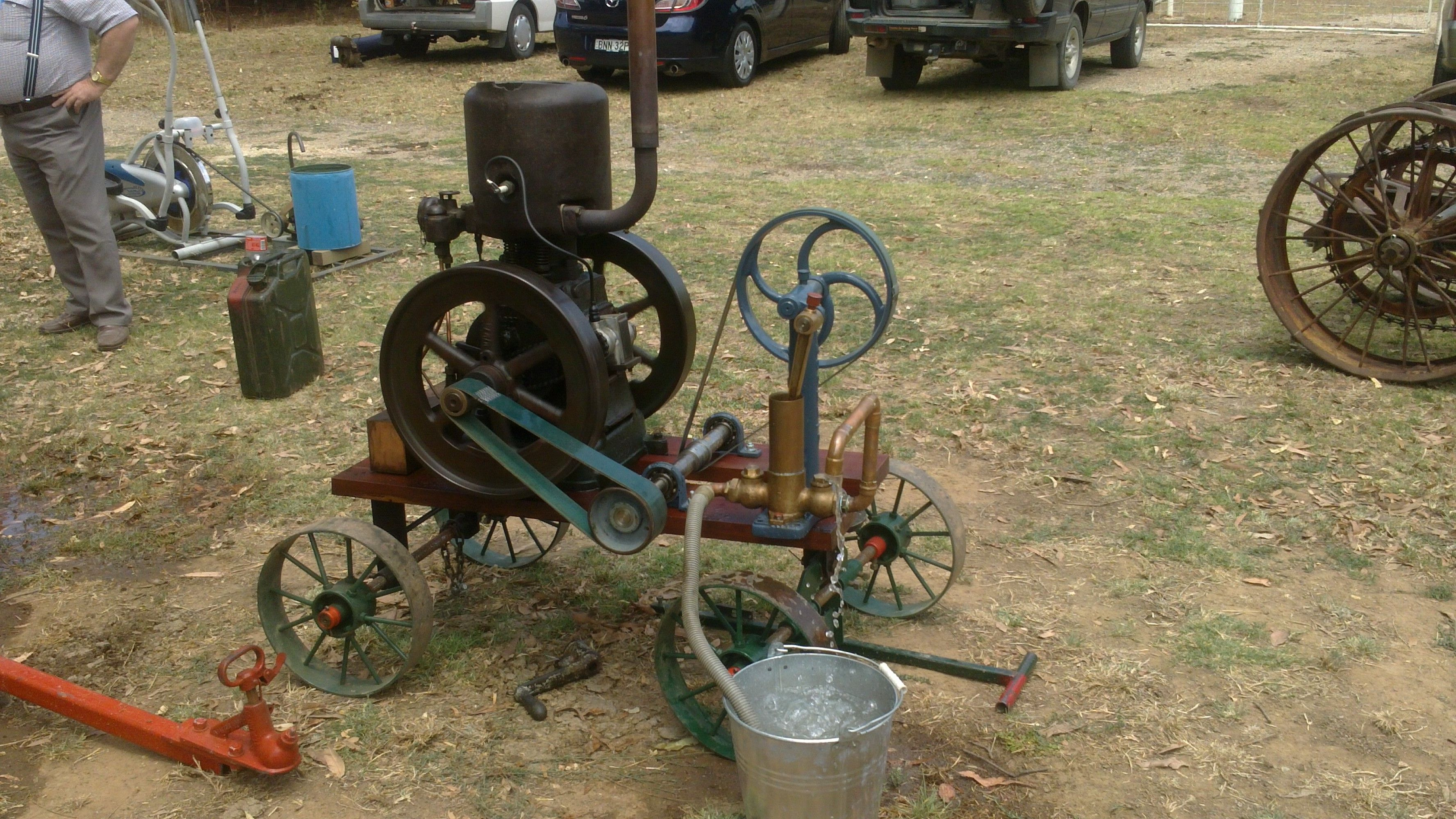 A Lister Engine Engineering, Past life, Diesel engine