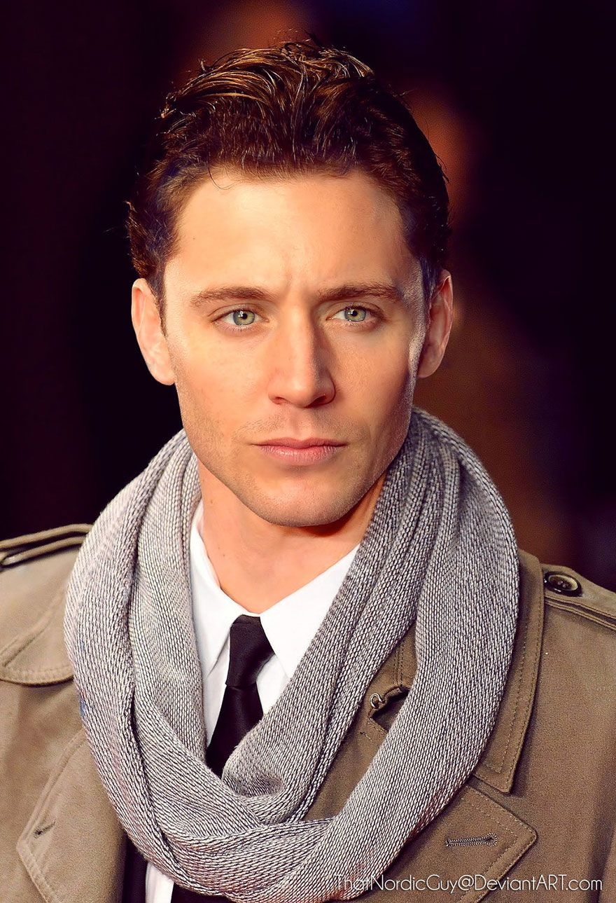 Artist Creates Perfect Faces By Combining Photos Of Different Celebrities Celebrity Faces Perfect People Tom Hiddleston