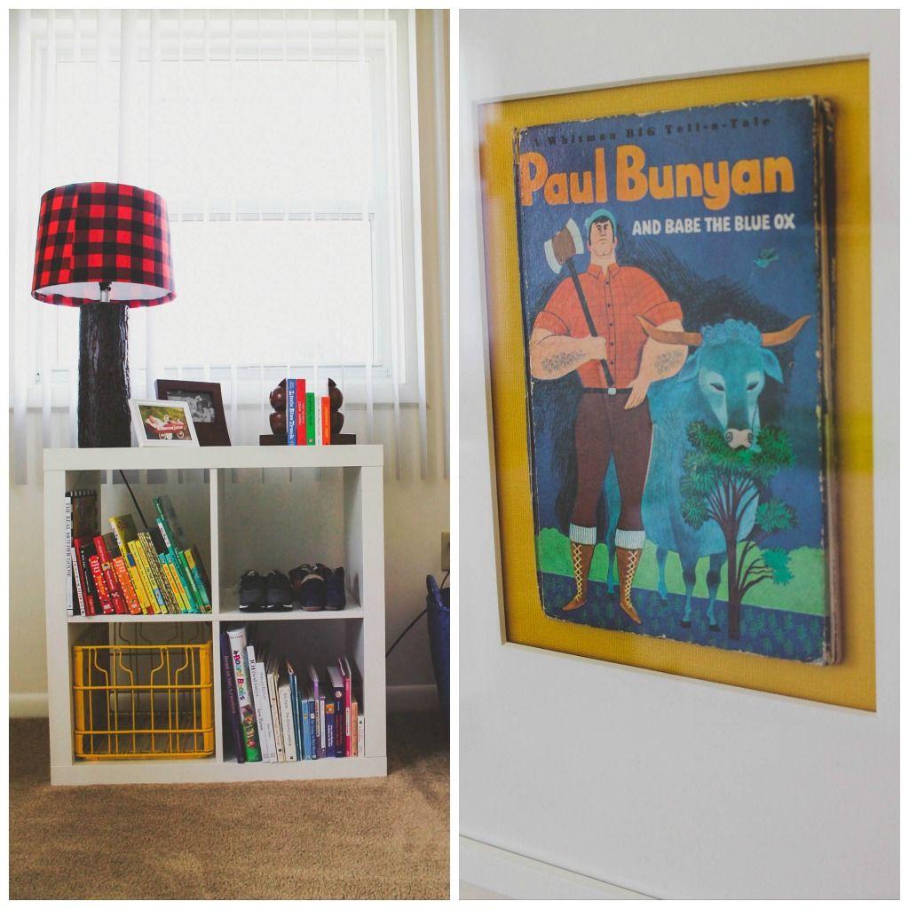 The Hallam Family Baby Room Ideas: Asher's Lumberjack Inspired Nursery