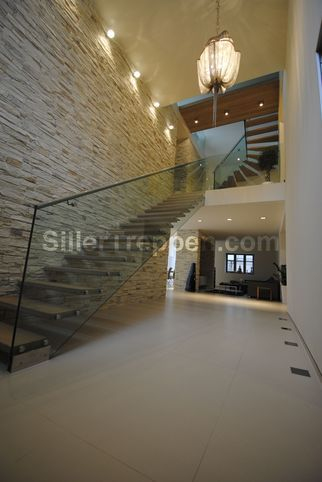 barandas para escaleras minimalistas - Buscar con Google Escaleras