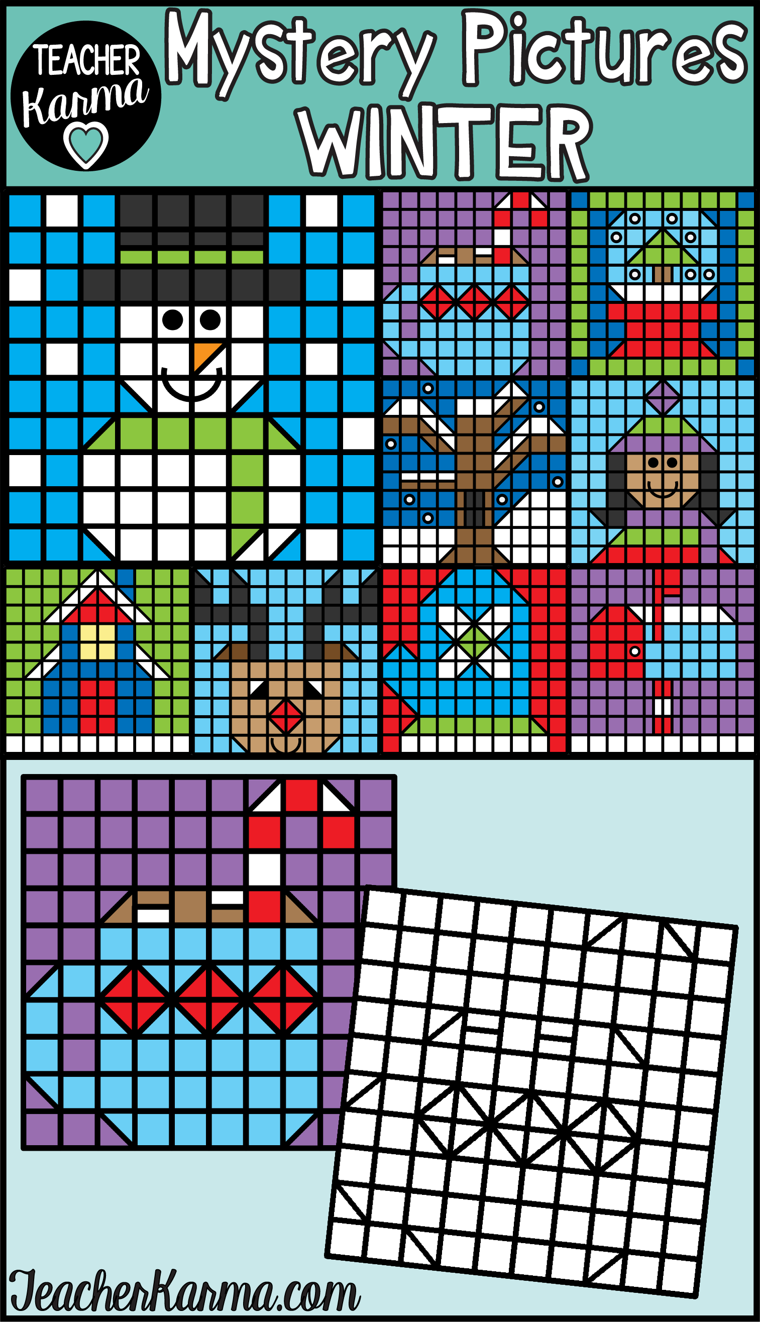 Winter Mystery Pictures Clipart Christmas