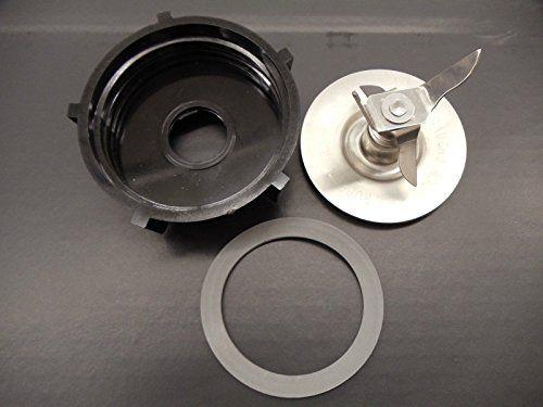 Genuine Oster Blender Blade with Bottom Base /& 2 Sealing Rubber Gaskets Set