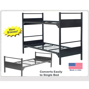 Extreme Duty Durable Metal Bunk Bed 5000 Abm Bunk Bed Caddies In