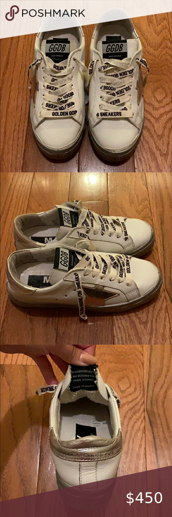 Golden Goose White Sneakers New without