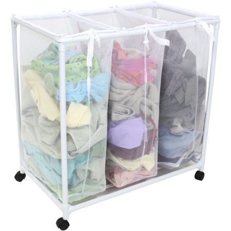 Home Laundry Sorter Pool Toy Storage Mainstays