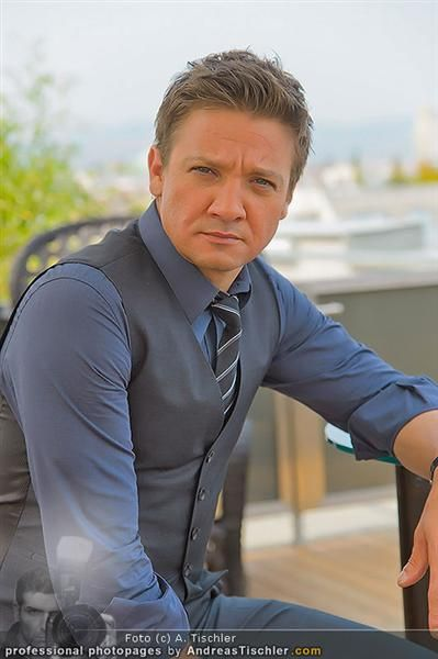 Jeremy Lee Renner - Sep 04, 2012 - Vienna photoshoot - Seriously, someone wrap him up and put him under my christmas tree this year! #allaboutme