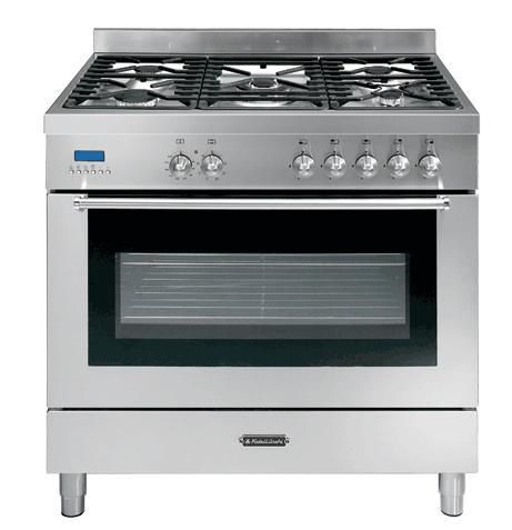 gas kitchen stove. Fratelli Onofri Pinnacle Series Pro Style Gas Range With 5 Sealed Burners, Cu. Capacity, Manual Clean Convection Oven, One-Touch Igni Kitchen Stove