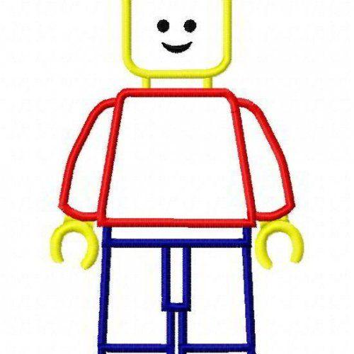 Lego Man Machine Embroidery Applique Designs 1946   appliquedesigns ...