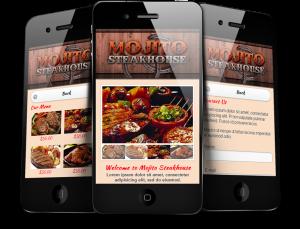 Mobili restaurati ~ Steakhouse restaurant mobile website by melaka creative mobile