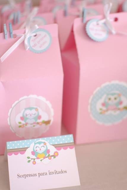 344e72051 Decoración con el imprimible de Buhos para nena Souvenirs 1 Añito, Cumple  De Buhos,