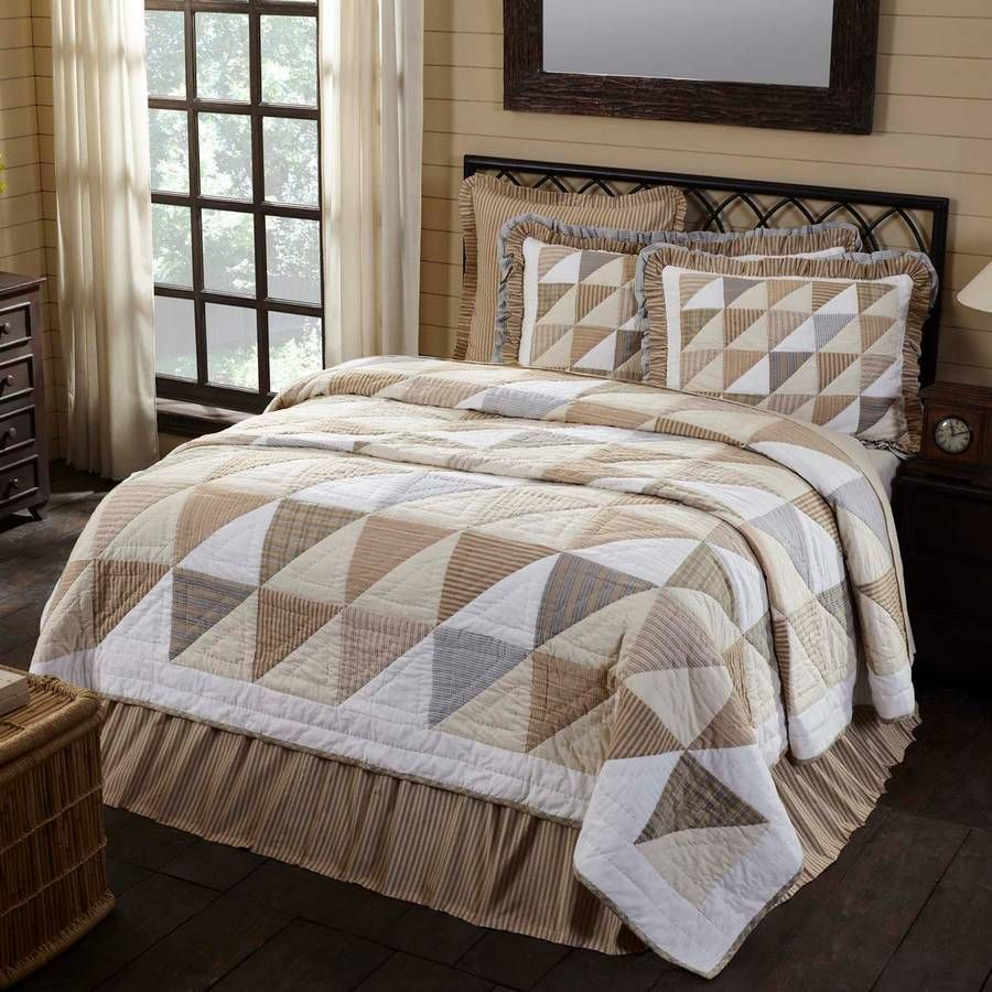 Joanna Luxury King Quilt 105 X 120 Farmhouse Quilts Farmhouse Bedding Farmhouse Bedding Sets