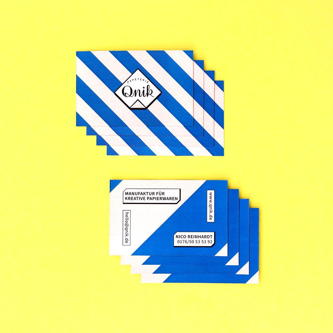 Druckfrisch Wir Präsentieren Unsere Neue Visitenkarte