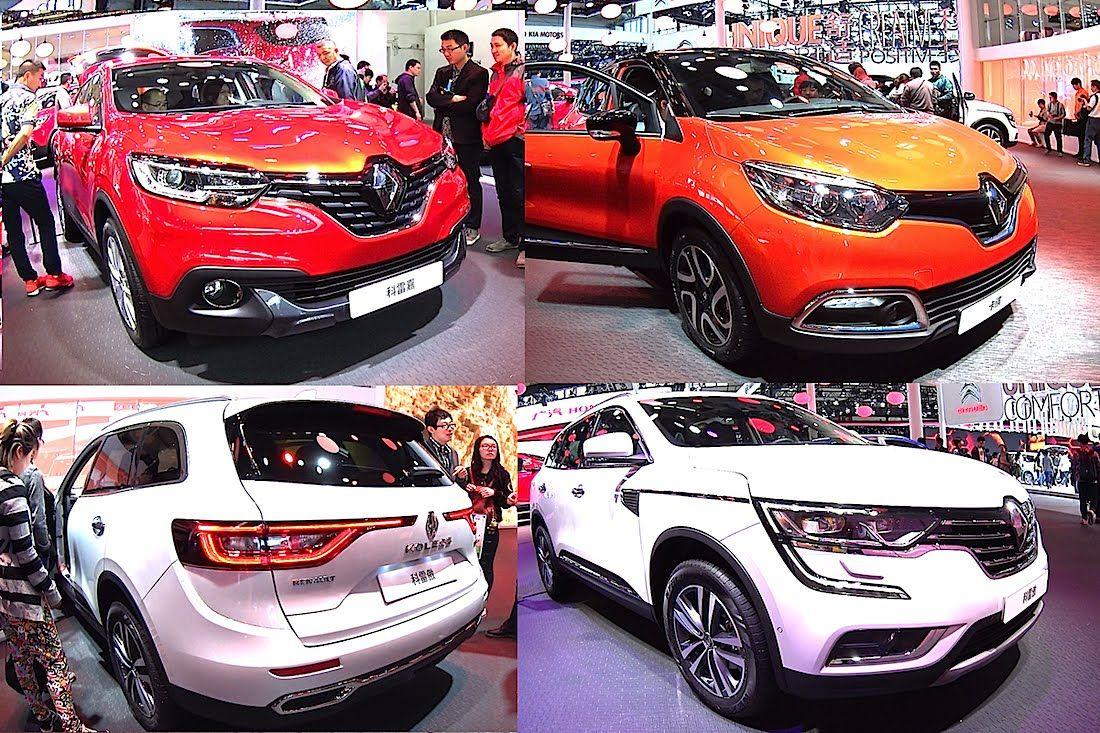 Top 3 New Renault Suvs Renault Kadjar Captur Koleos Renault