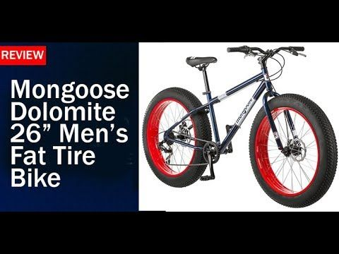 Mongoose Dolomite 26 Men S Fat Tire Bike Review Reviews