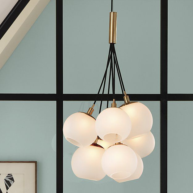 CB2 SAIC together pendant light - CB2 SAIC Together Pendant Light Pendant Lighting, Pendants And