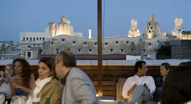 La Terraza De Verano Del Hotel Omm De Barcelona Vistas