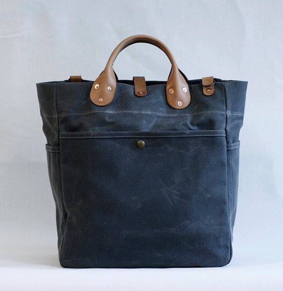 Garrison Bag Grey by wintersession on Etsy, $285.00
