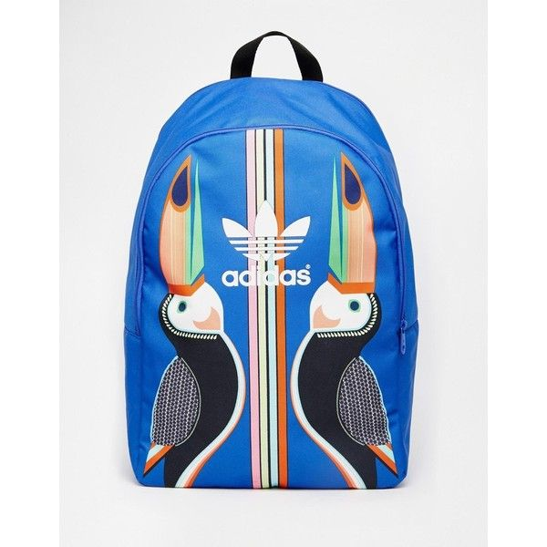 fed754df1f0c adidas Originals x Farm Tukana Backpack (€28) ❤ liked on Polyvore featuring  bags