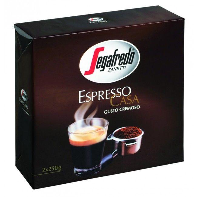 Fine Italian Coffee Segafredo Espresso Casa BiPack 250g