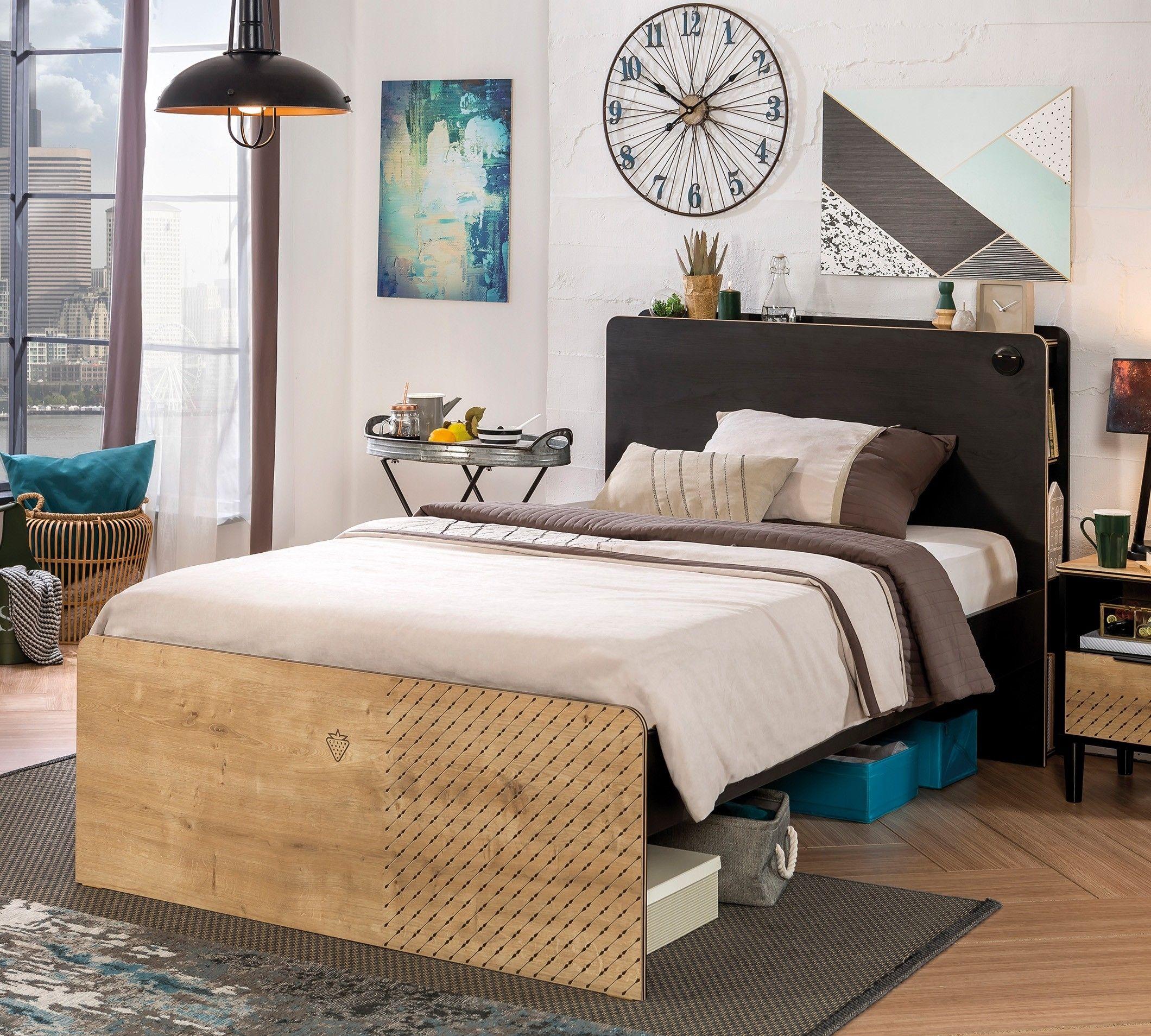 New york twijfelaar tiener bed slaapkamer tienerkamer for Slaapkamer bed