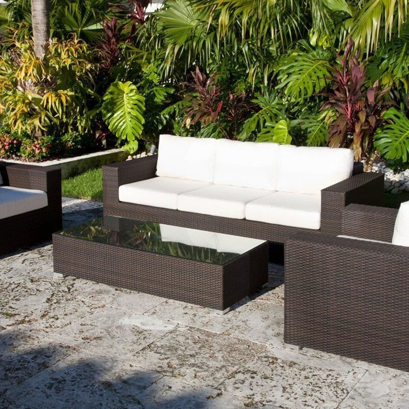 Outdoor Choco Conventional Varnished Wooden Conversation Set Cheap Patio  Sets With Best Material