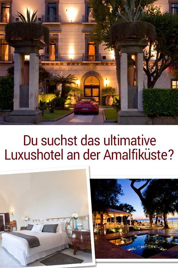 Das luxuriöse 5Sterne Grand Hotel Cocumella im Sorrent in