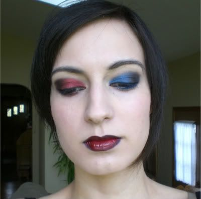 Punk and Gothic Eye Makeup Tutorial | makeup | Gothic eye ...