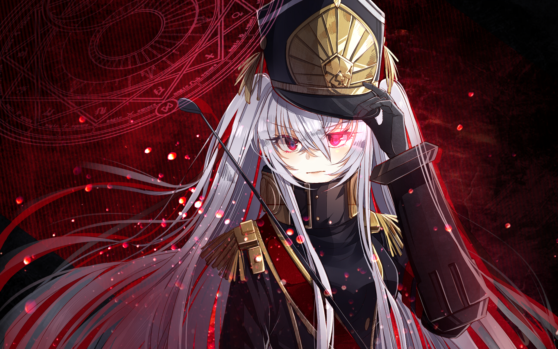 Anime Re:Creators Gunpuku No Himegimi Wallpaper