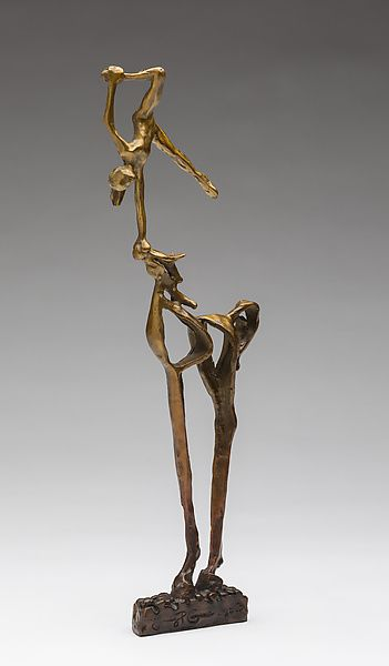 Balance by Sandy Graves: Bronze Sculpture available at www.artfulhome.com