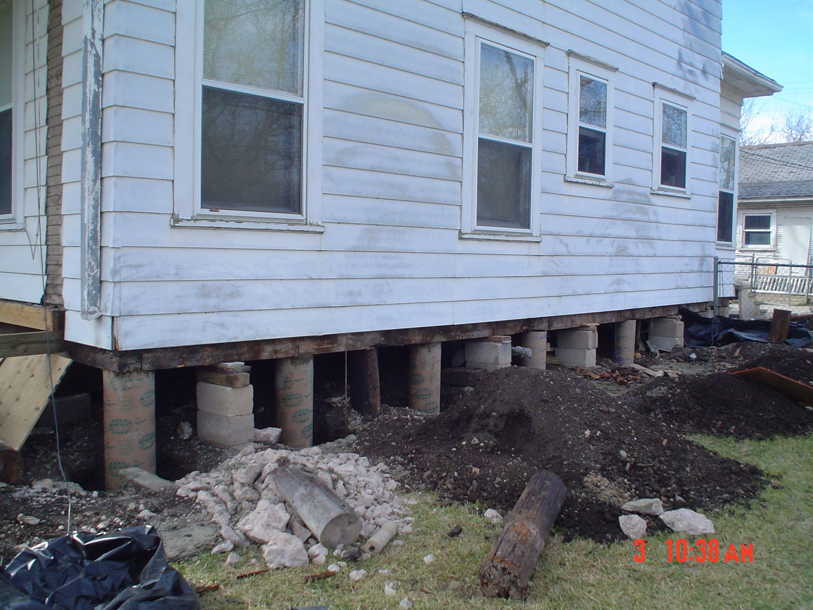 Pier beam foundations foundation repair pinterest for Pier beam house