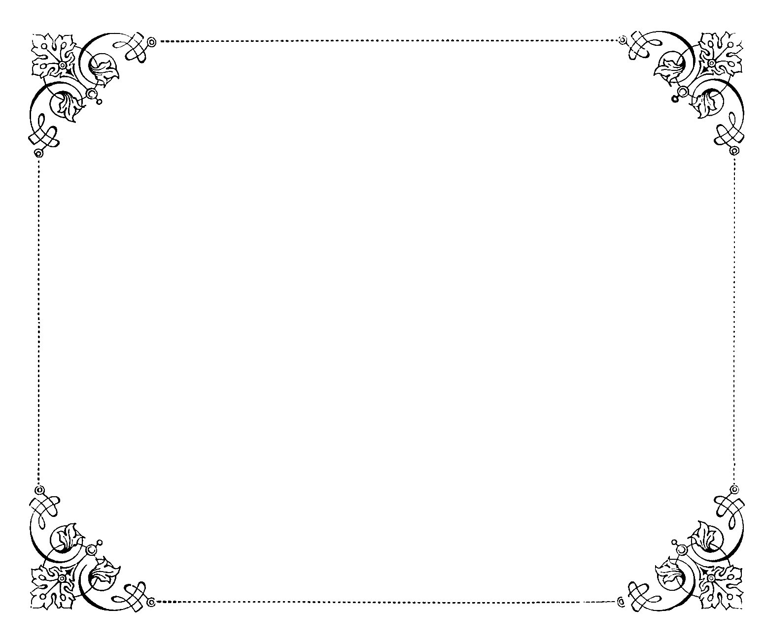 Fancy Borders Free Wip4jj Clipart Png 1552 215 1300 Harry