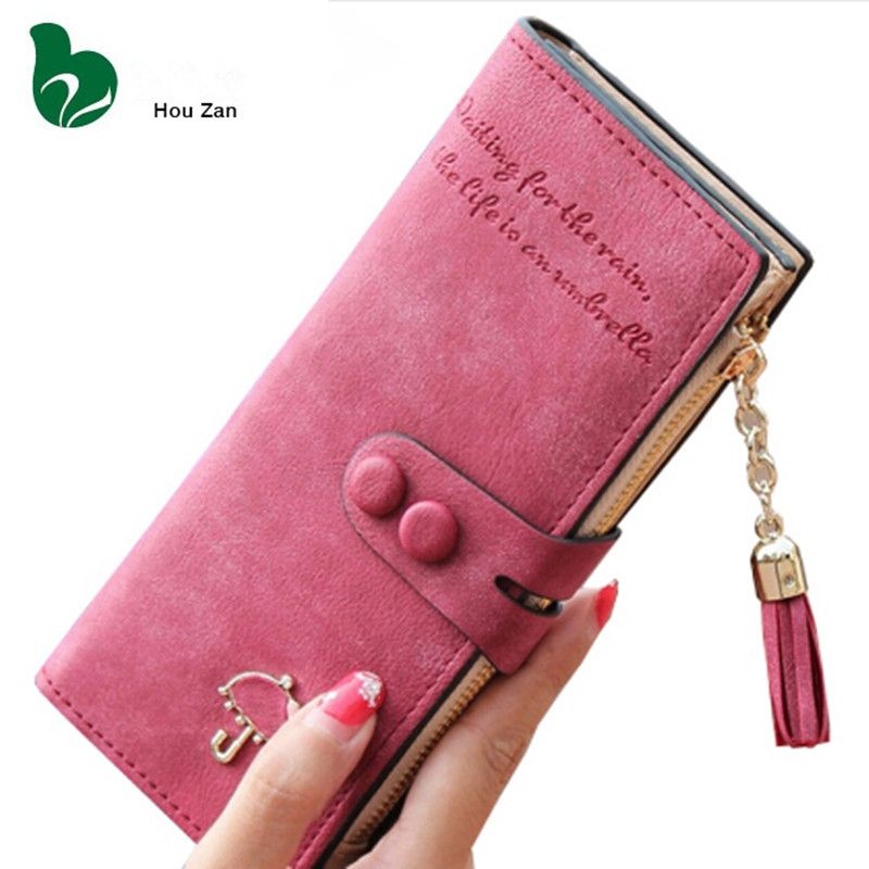 caaa812ba5b Famous Designer Long Clutch Women Wallets Luxury Brand Female ...