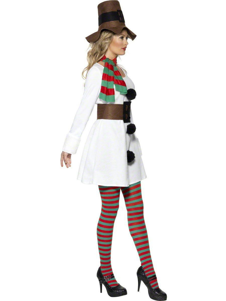 Christmas fancy dress ideas diy - Fancy Dress Ladies Christmas Costumes Miss Snowman Costume