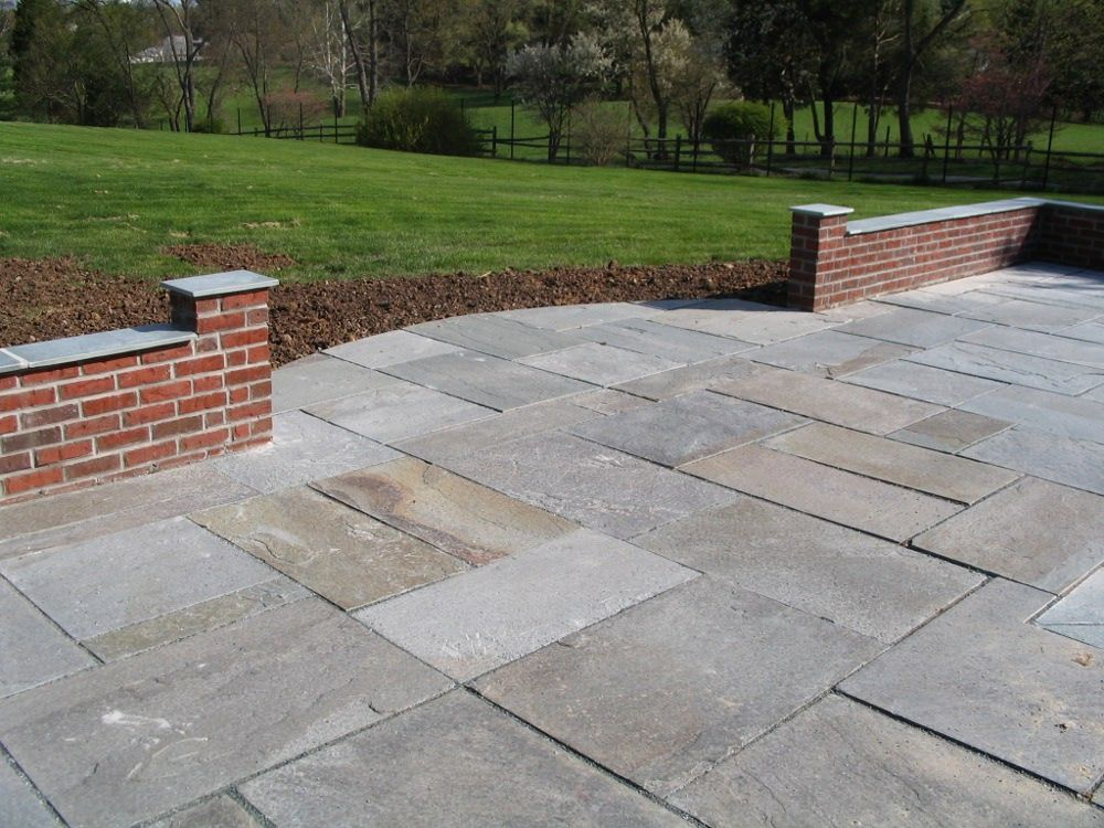 25 great stone patio ideas for your home - Brick Stone Patio Designs