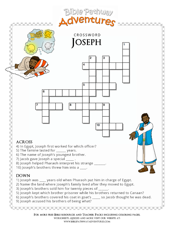 Pin On Bible Crossword Puzzles