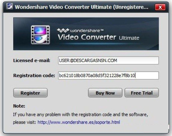 Wondershare Video Converter Ultimate 10 2 0 154 Serial Key Full