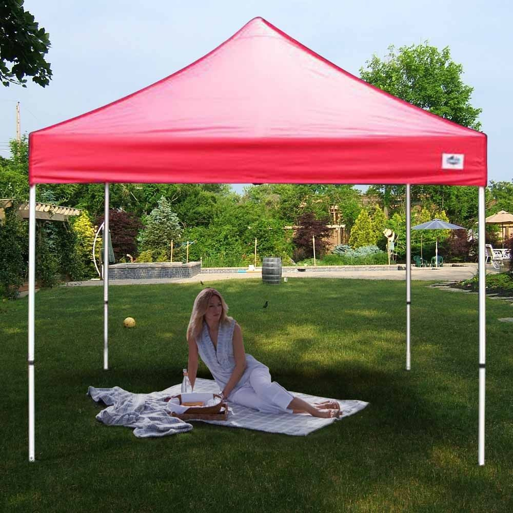 King Canopy Festival 10 X 10 Red Pop Up Canopy Canopy Pop Up Instant Canopy