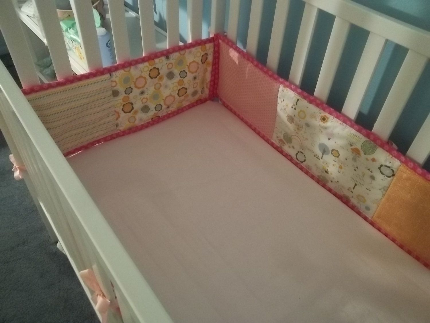 Crib Bumper Pattern Custom Decorating