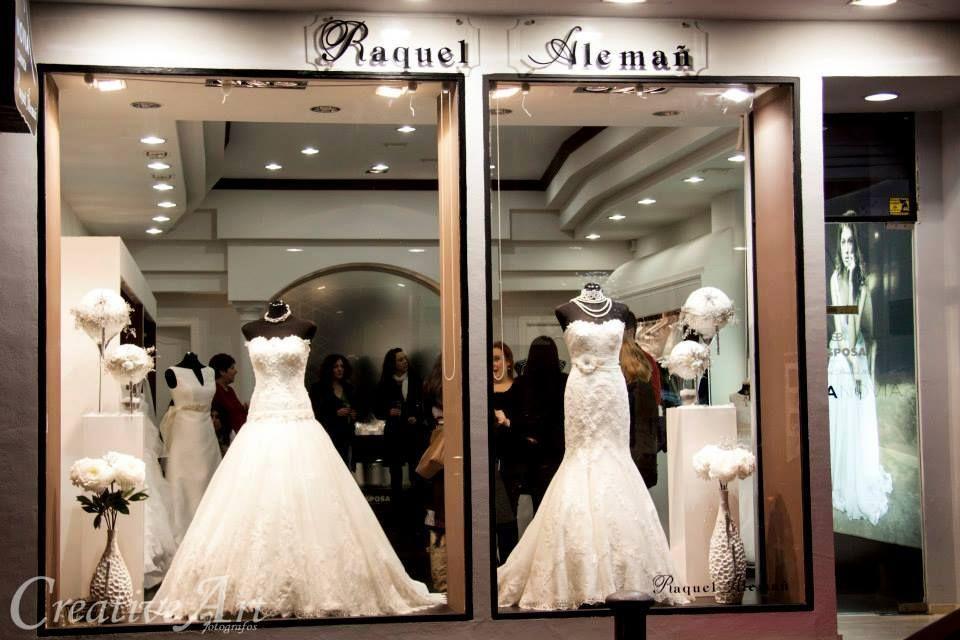Raquel Alemañ Novias , tienda especializada en vestidos de novia y ...