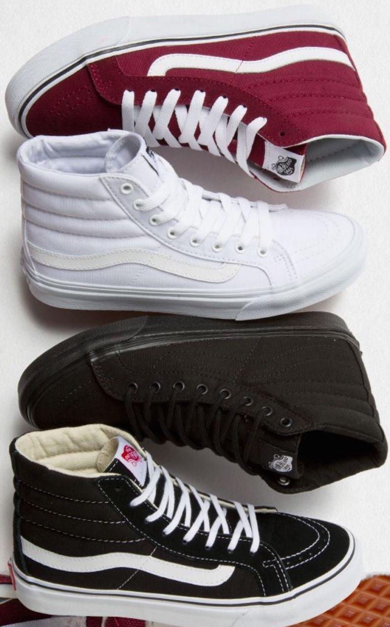 Vans SK8 Hi Negras Zapatillas de correr