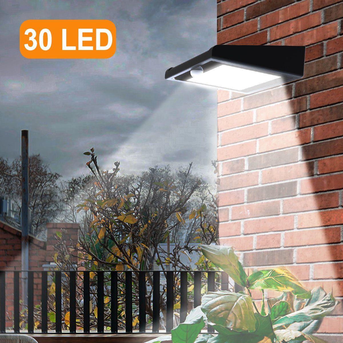 30 Led Solar Lights Outdoor Super Bright Iextreme Solar Motion Sensor Lights Wireless Waterproof Security Lights Solar Patio Lights Solar Lights Solar Patio