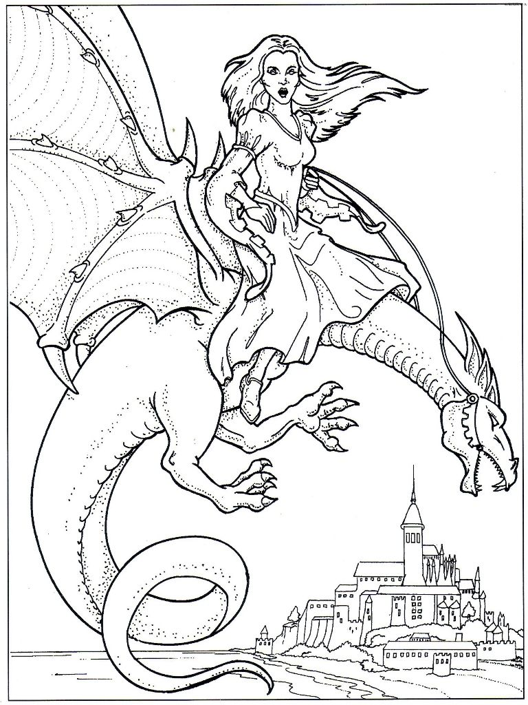 Viewing Gallery For Water Dragon Coloring Pages Dragon Coloring