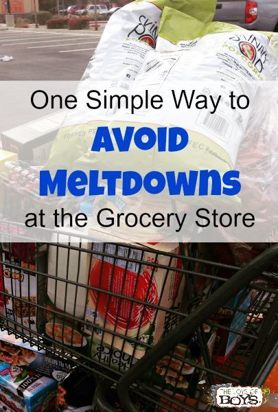 Photo of One Simple Way to Avoid Meltdowns at the Grocery Store – The Joys of Boys