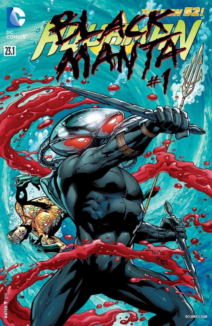 Aquaman #23.1 - Black Manta