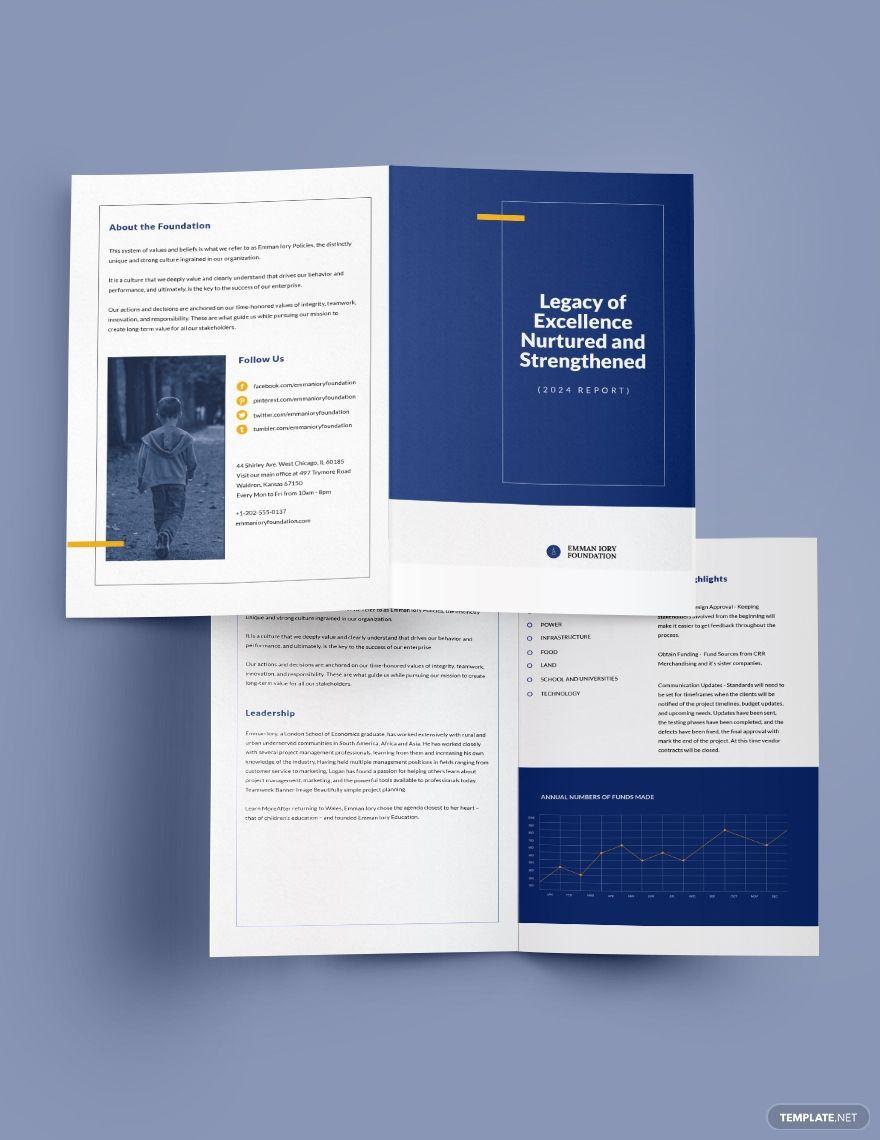 Ngo Annual Report Bi Fold Brochure Template Free Publisher Illustrator Indesign Word Apple Pages Psd Template Net Bi Fold Brochure Brochure Template Brochure