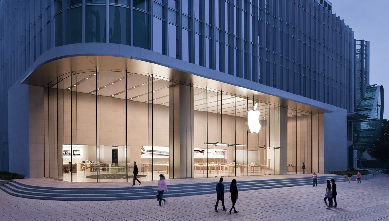 The Most Beautiful Apple Stores In The World Apple Store Design Apple Store Store Architecture