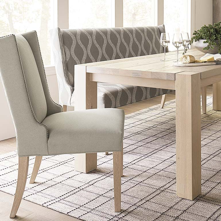 Brooke Wing Back Side Chair Side Chairs Dining Chairs Chair
