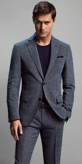 7ecba11457fc Men s Charcoal Suit