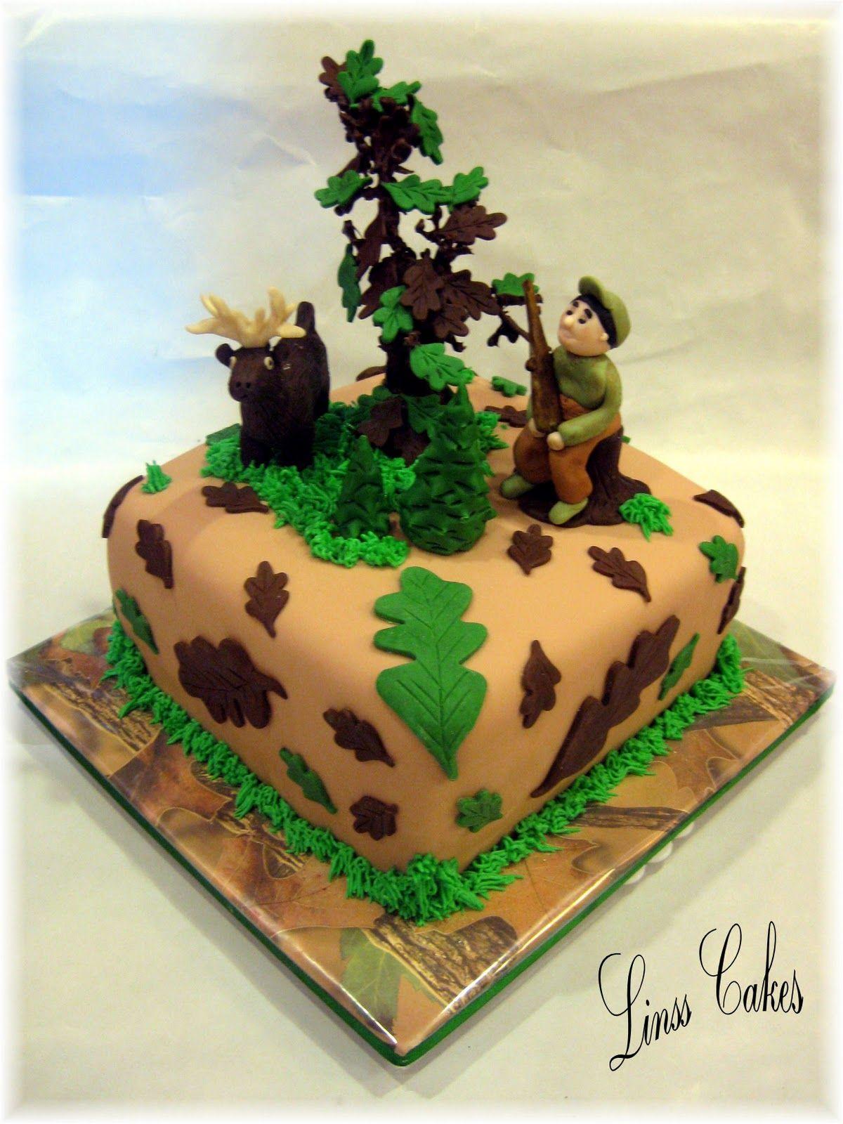 какой торт для охотников фото вставлю часть которой