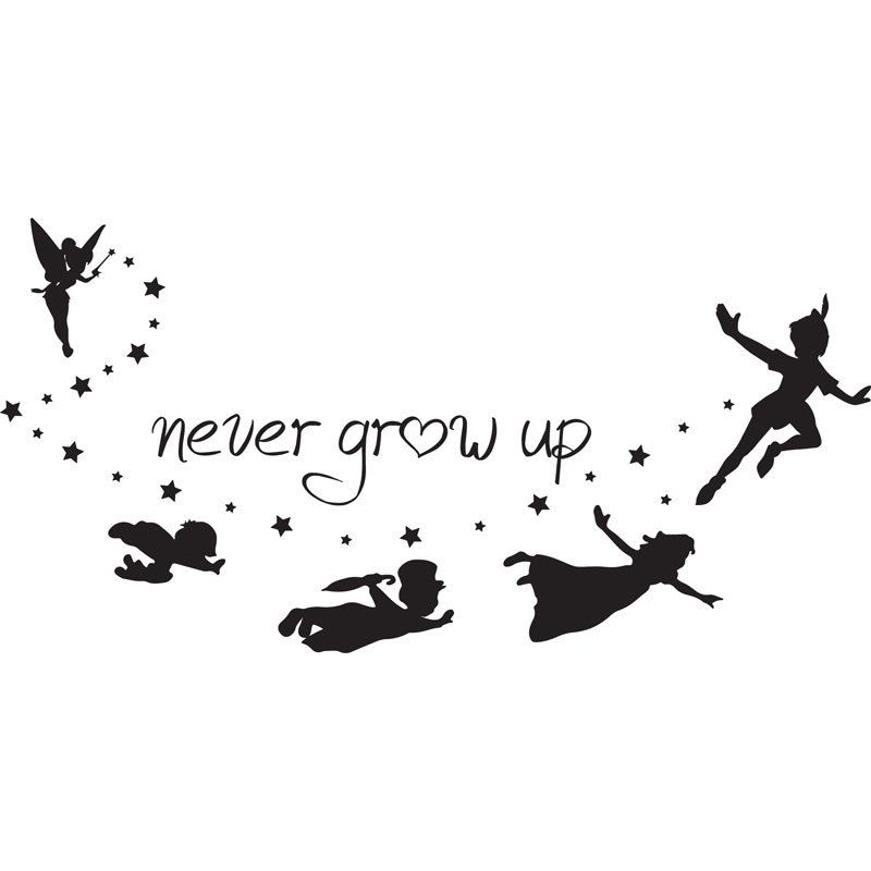 Image result for peter pan sequin silhouette | creative ideas ...